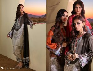 Sana Safinaz Winter Dresses Muzlin Collection