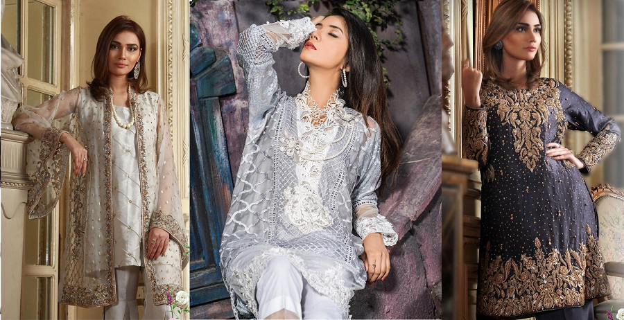 Taleen Brand Latest Formal Party Wear Dresses Styles Collection 2019