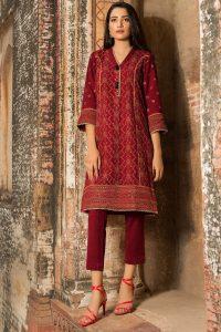 Chikan Kari Latest Women Designer Winter Dresses