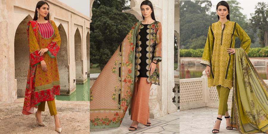 WARDA Latest Women Designer Winter Dresses Collection 2019-2020