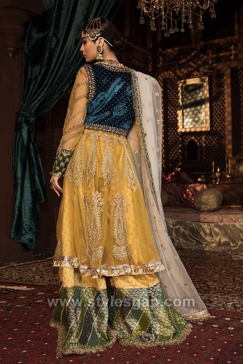 Latest Pakistani Formal Wedding Dresses