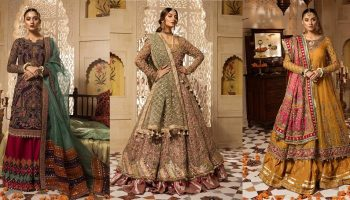 Maria B Latest Formal Wedding Dresses Collection
