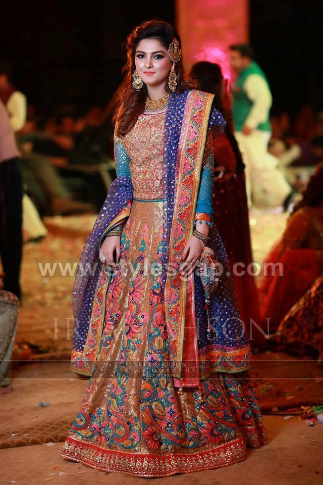 40 Best Designs Pakistani Latest Bridal Lehenga Collection 2020 21