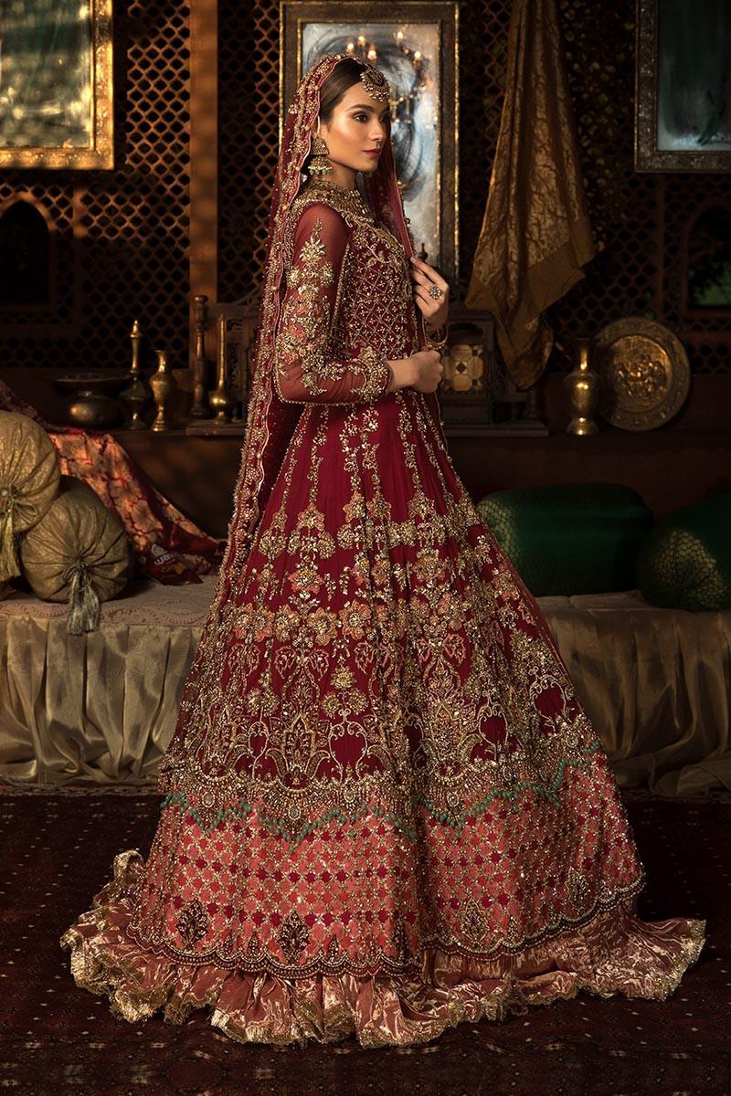 Pakistani Designer Bridal Dresses Maria B Brides