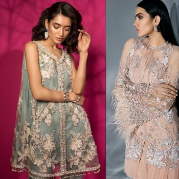 Pakistani Party Wear Embroidered Shirts 2020 Latest Designs
