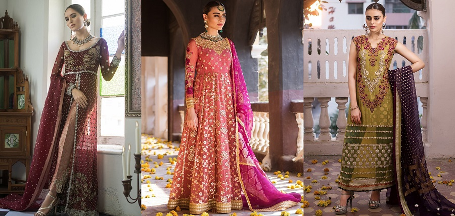 Zainab Chottani Luxury Pret Formal Dresses 2019-2020