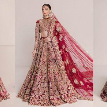 Ali Xeeshan Latest Bridal Dresses Latest Wedding Collection 2021-2022