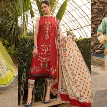 Warda Latest Summer Dresses Printed & Embroidered Collection 2020