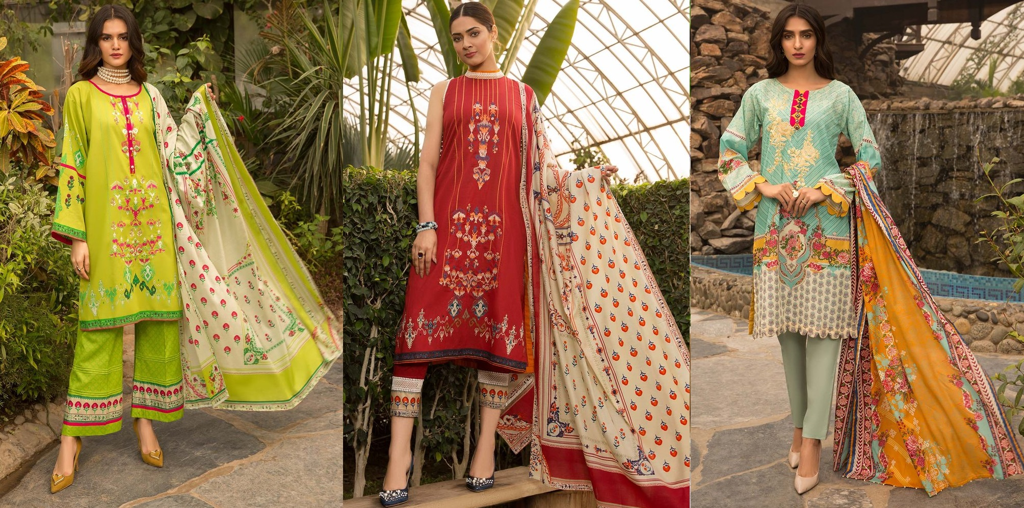 Embroidery – Warda Latest Summer Dresses Printed & Embroidered Collection 2020