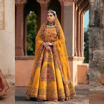 Fahad Hussayn Latest Pakistani Designer Bridal Dresses 2021 Designs