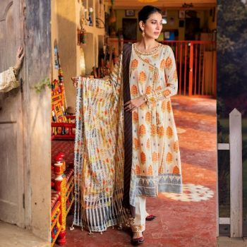 Gul Ahmed Printed Summer Lawn Dresses Collection 2021