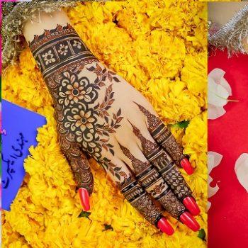 Kashee's Stylish & Fancy Mehndi Designs Collection 2021-2022