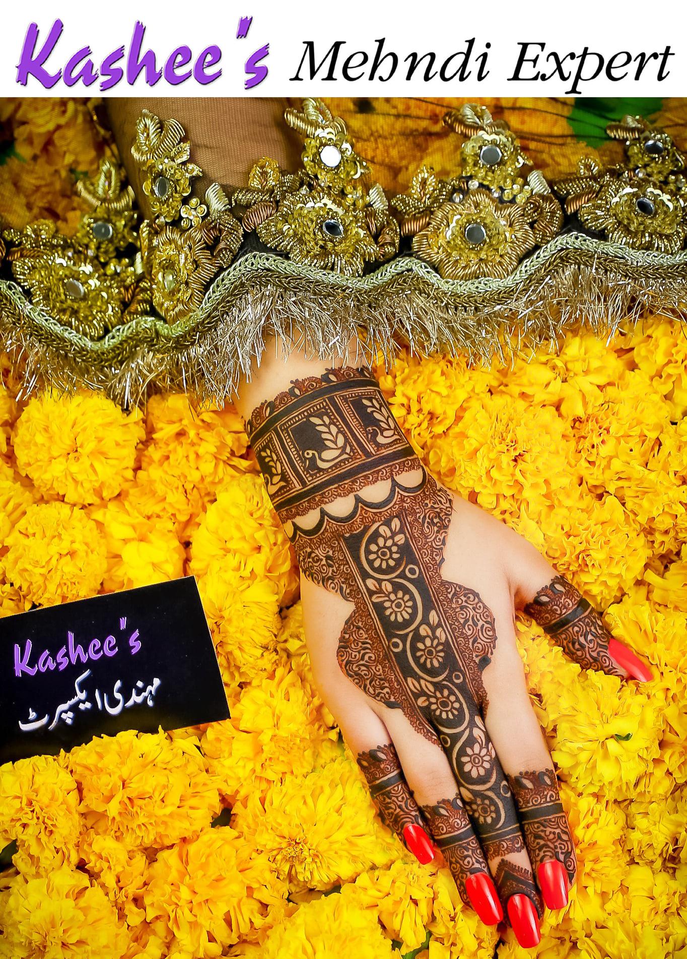 Kashee's Stylish & Fancy Mehndi Designs