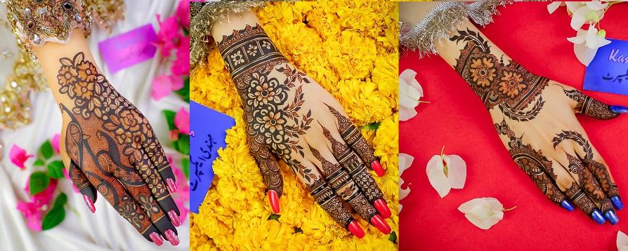 Kashee's Stylish & Fancy Mehndi Designs Collection