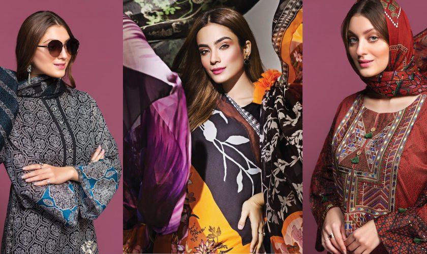 Nishat Linen Spring Summer Collection 2020 Designer Lawn Dresses