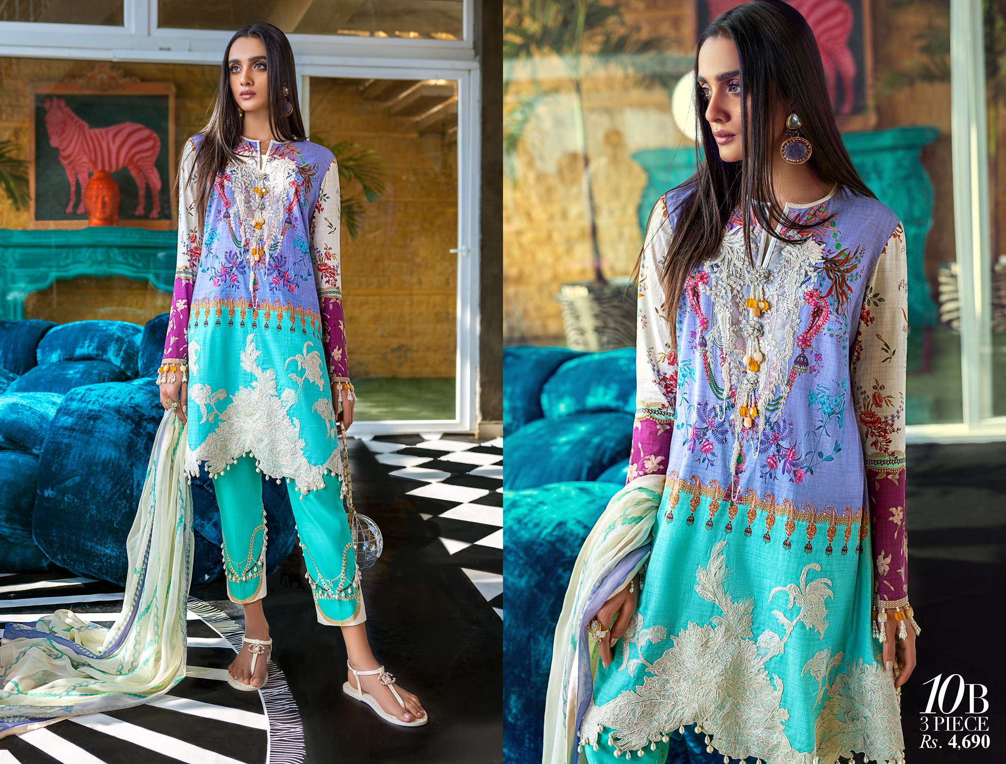 Sana Safinaz Luxury Lawn Best Summer Dresses