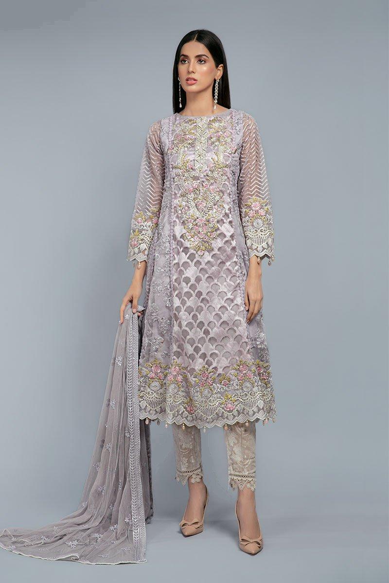 Latest Maria B Pret Stitched Summer Dresses Designs 3