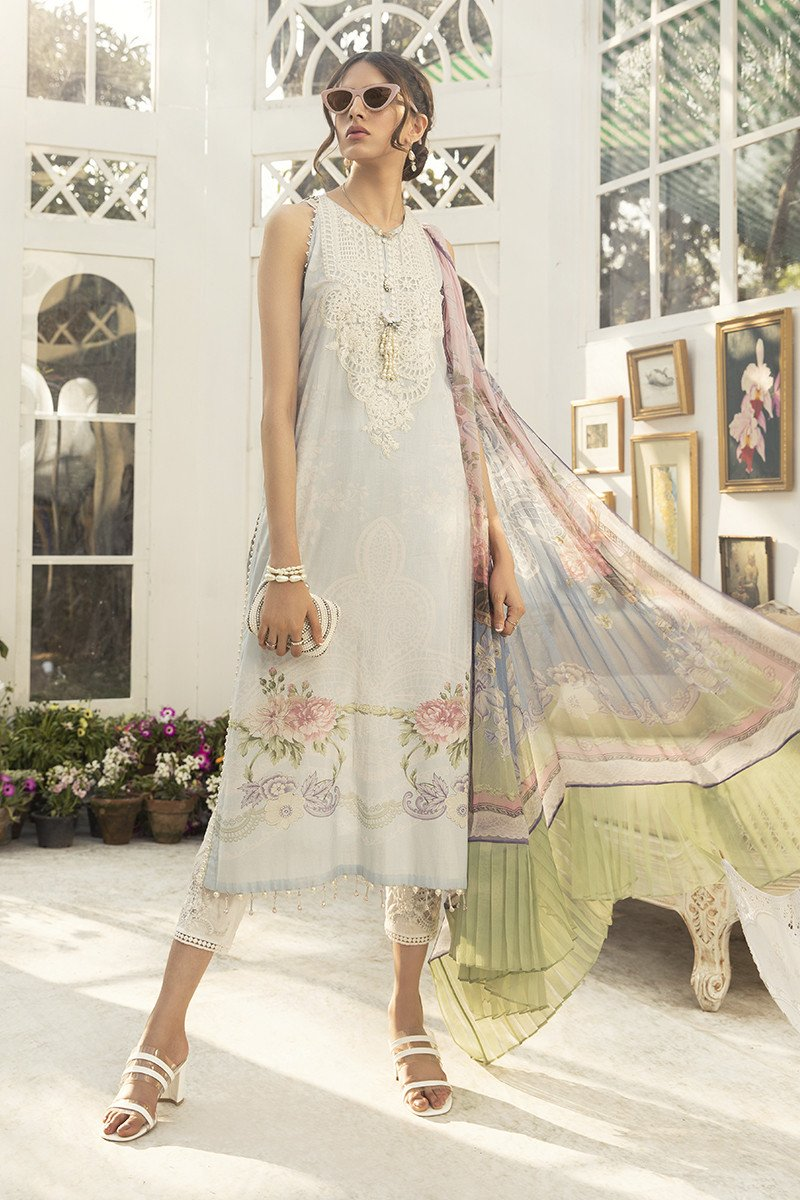 Printed Embroidered Lawn Collection