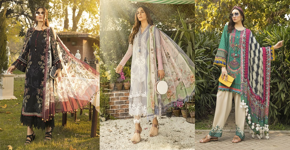 M Prints Maria B Printed Embroidered Lawn Collection 2020