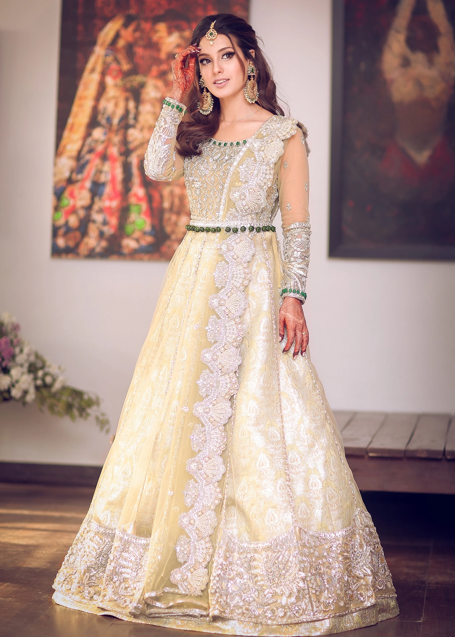 Safaf Fawad Khan Latest Bridal Dresses Formal Pret Collection