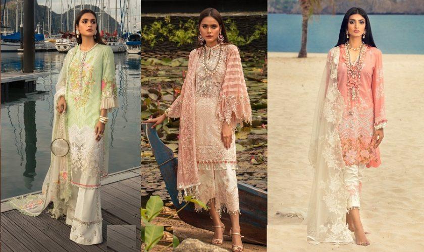 Sana Safinaz Luxury Lawn Best Summer Dresses Collection 2020