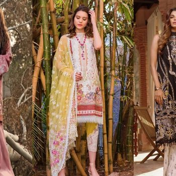Top Pakistani Lawn Brands Designer Dresses Collections 2020