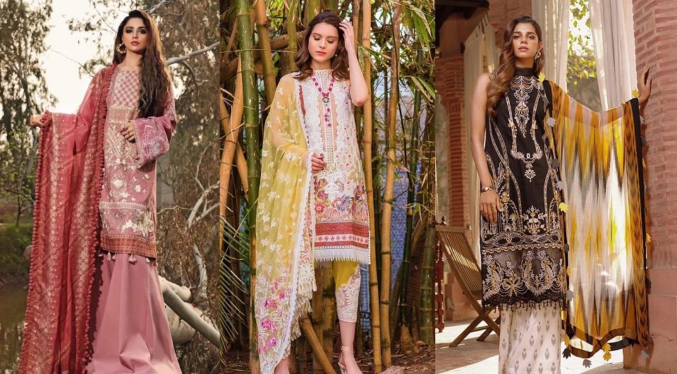 Cross Stitch – Top Pakistani Lawn Brands Designer Dresses Collections