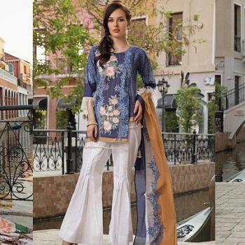 Khas 2 Piece Beautiful Lawn Dresses Collection 2019