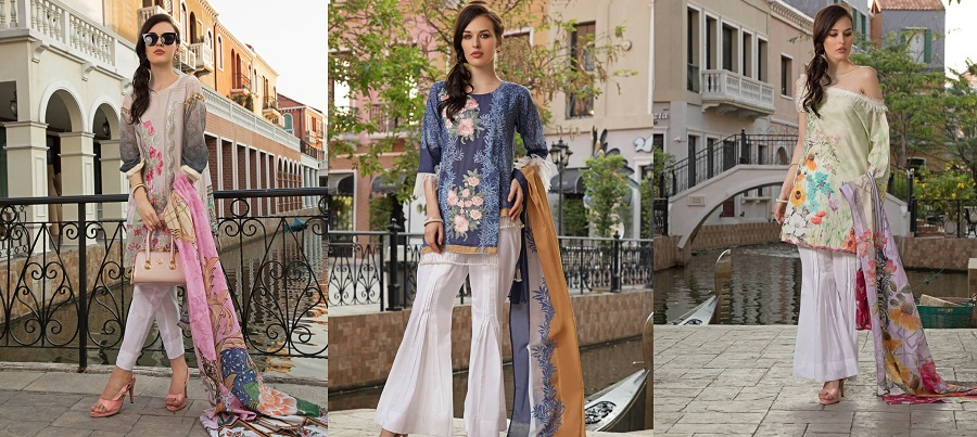 Khas 2 Piece Beautiful Lawn Dresses Collection 2019