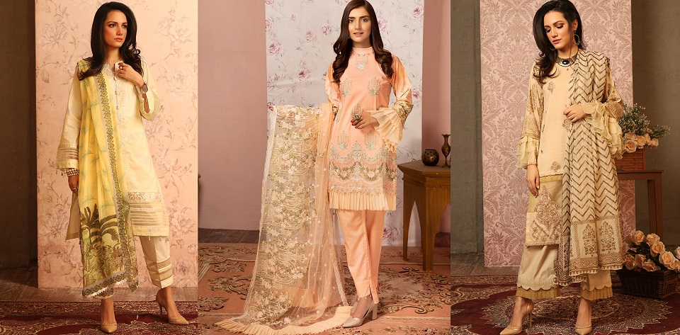 Khas Beautiful Lawn Dresses Spring Vibes Collection 2020-2021