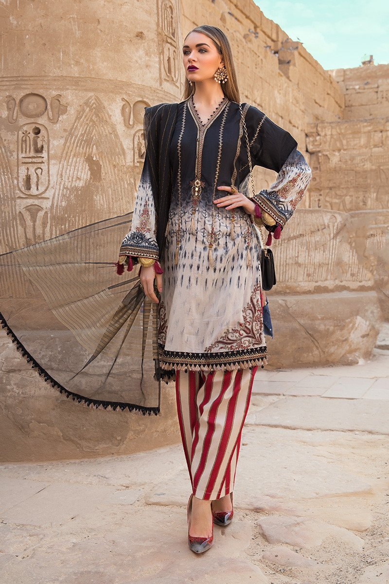 Best Pakistani Designer Summer Dresses Maria B Designs