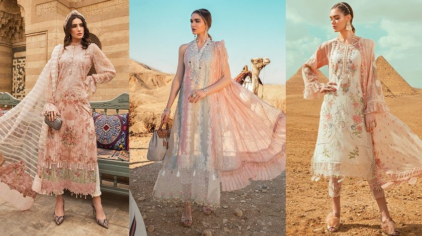 Maria B Lawn Collection 2020 Best Pakistani Designer Summer Dresses