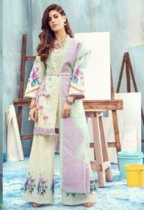 Pakistani Lawn Brands Designer Dresses