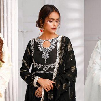 Sana Abbas Beautiful Formal Eid Dresses Designs Collection 2020