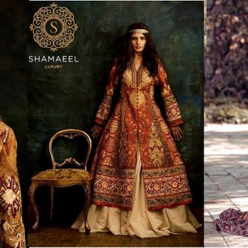 Shamaeel Ansari Latest Bridal Dresses & Pret Collection 2019