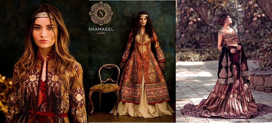 Shamaeel Ansari Latest Bridal Dresses & Pret Collection 2019-2020