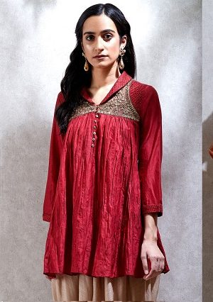 Short Kurtis Tunics – Indian Stylish Tunics Kurtis & Kurta Dress Ritu Kumar Collection