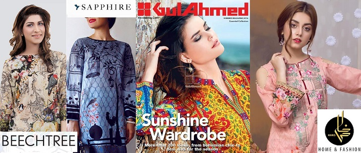 Top 7 Best Designer Summer Lawn Collections 2020-21 to Buy this Year