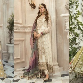 Best Eid Women Dresses Maria B Mbroidered Eid Collection 2020
