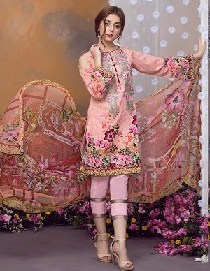 Khas Luxury Eid Lawn Suits Designs Collection 2019-2020