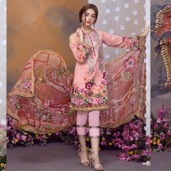 Khas Luxury Eid Lawn Suits Designs Collection 2019