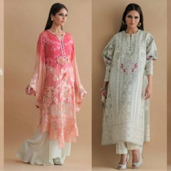 Pakistani Designer Shamaeel Ansari Eid Dresses Collection 2020