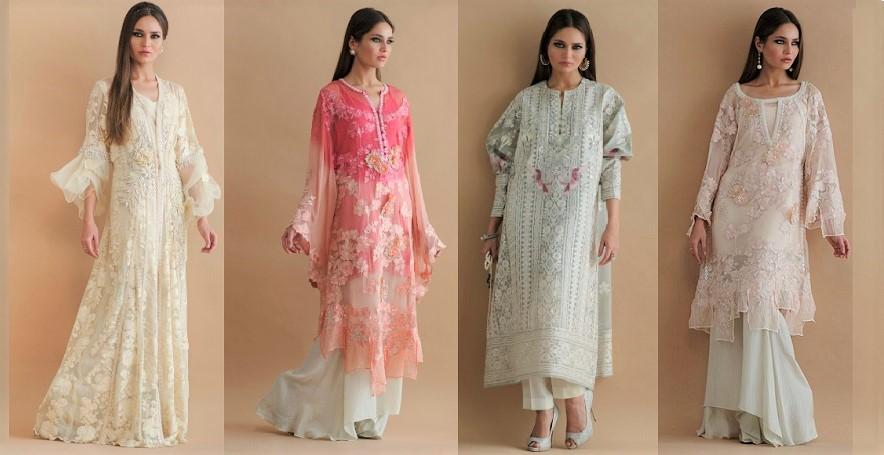 Pakistani Designer Shamaeel Ansari Eid Dresses Collection 2019-2020 (1)