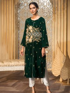 Formal Silk & Velvet Kurtis Collection