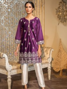 Khas Luxury Pret Formal Silk & Velvet Kurtis Collection 2020