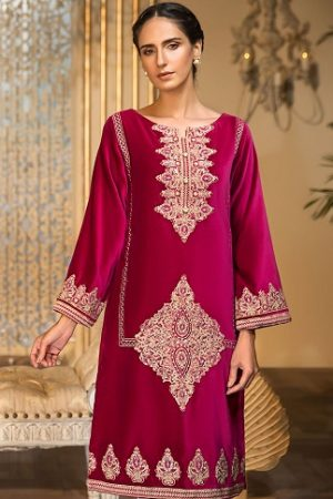 Khas Luxury Pret Silk & Velvet Kurtis Collection 2020-2021