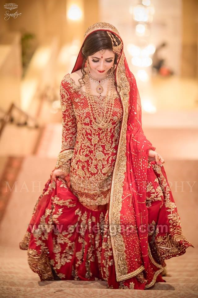 mohsin naveed ranjha pakistani designer bridal dress