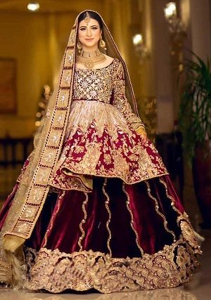 Mohsin Naveed Ranjha Pakistani Designer Bridal Dresses Collection 2019