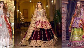 Mohsin Naveed Ranjha Pakistani Designer Bridal Dresses Collection 2019