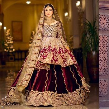 Mohsin Naveed Ranjha Pakistani Designer Bridal Dresses Collection 2020